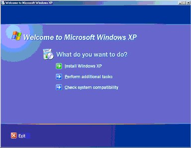 WinXP Screen Shot No. 1